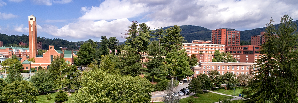 Appalachian State University campus scene