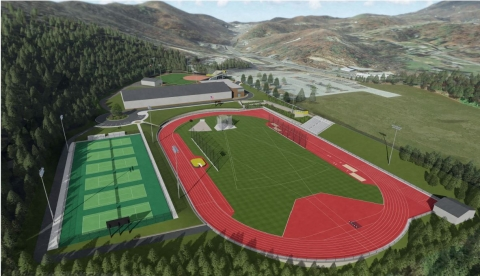 Track Tennis Softball Relocate