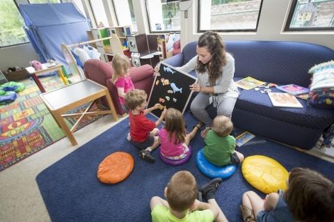 Caretaker with Children