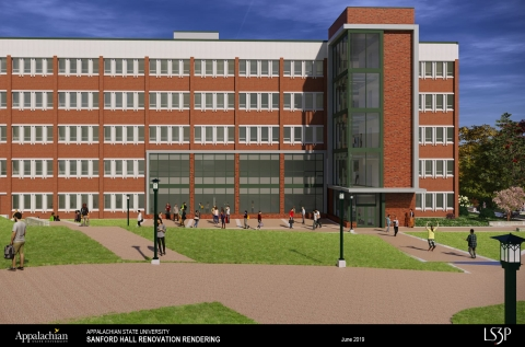 Rendering of Sanford Post Renovation