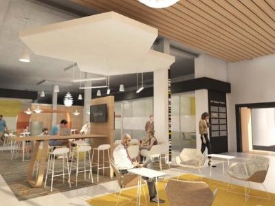 Career Development Center Concept Drawing