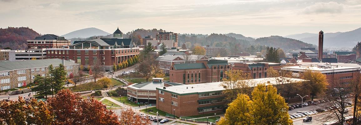 Appalachian State University campus scene