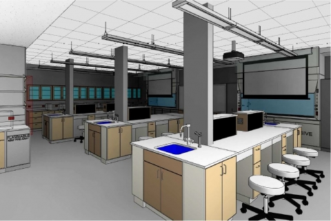 Garwood Hall Lab & Academic Space Renovation