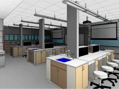 Garwood Hall Lab & Academic Space Renovation